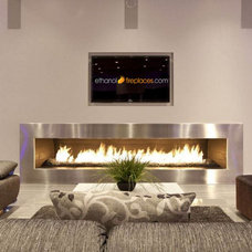 Contemporary Fireplaces by Ethanol Fireplaces