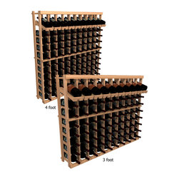 "Wine Cellar Innovations - Ten Column with Display Winemaker Series Individual Bottle Kit Wine Rack in Rust - Each wine bottle stored on this ten column individual bottle wine rack is individually cradled with a built in display row to show off your wine labels. These wine racks must be mounted 1 1/2"" off the wall to ensure proper wine bottle stability. Assembly Required."