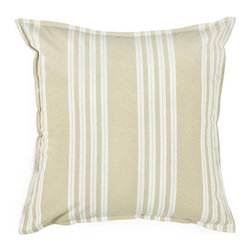 Rizzy Home - Tan and White Decorative Accent Pillows (Set of 2) - T03436 - Set of 2 Pillows.