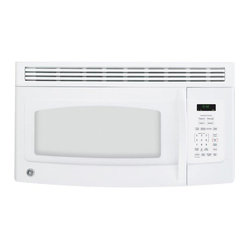 GE Spacemaker White 1.5 Cubic Foot Over-the-Range Microwave Oven