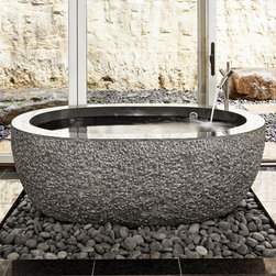 stone -  kitchen / bath / landscaping products - Stone Forest: Black Granite