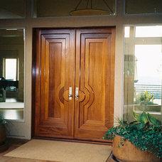 Contemporary Front Doors by Liberty Valley Doors