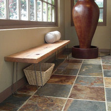 modern benches by Etsy