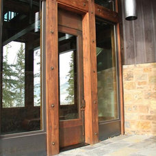 Contemporary Front Doors by Spydor Architectural Woodworks