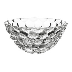 Orrefors - Raspberry Bowl - The luscious little spheres making up the crystal fruit seem soft and delicious