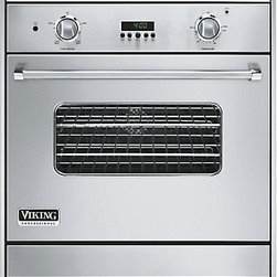 "Viking Professional Series 30"" Gas Oven - Stainless steel with the option of natural gas or propane fueling. A range of 24 different finishes and 3 accent colors."