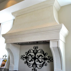 Traditional Range Hoods And Vents by Millennium Cast Stone Interiors