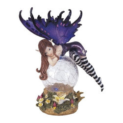 GSC - Fairy Collection Crystal Ball LED Light Figure Decoration Collectible - This gorgeous Fairy Collection Crystal Ball LED Light Figure Decoration Collectible has the finest details and highest quality you will find anywhere! Fairy Collection Crystal Ball LED Light Figure Decoration Collectible is truly remarkable.