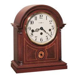 Howard Miller - Howard Miller Key Wound Mantel Clock | BARRISTER - 613180 BARRISTER