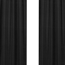 Sweet Jojo Designs - Minky Dot Black Window Panel - Set of 2 by Sweet Jojo Designs - The Minky Dot Black Window Panel - Set of 2 by Sweet Jojo Designs, along with the  bedding accessories.