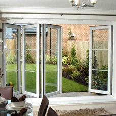 Contemporary Windows And Doors by All About Windows Inc