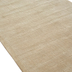 Jaipur Rugs - Solids/ Handloom Solid Pattern Wool/ Art Silk Gray/ Area Rug (5 x 8) - European refinement and a contemporary aesthetic are the hallmarks of the Konstrukt collection. Subtle, textural designs are hand-woven into each loomed piece. Art silk combined with plush and rich wool creates an environment that redefines comfort. The best-designed rooms start with a solid and bold foundation