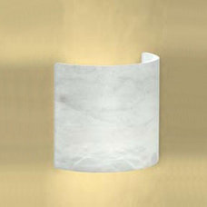 Half-Cylinder Wall Sconce by Basic Source | A50807-102-INC