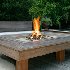 Contemporary Fire Pits by MobEx-Outdoor