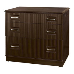 Pulaski - Accents Desk Chest with 2 Drawers - One file drawer