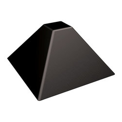 "Paderno World Cuisine - 2-5/8-Inch Square Base Non-stick Silicone Pyramid Mold (35x) - These molds are made of pure food grade non-stick silicone. Sizes and quality are designed for commercial use. They are temperature resistant from -75 degrees F to 580 degrees F. Each sheet measures L 23-5/8"" x W 15-3/4"". They have holes in between the imprints for better air circulation throughout the sheet to ensure even baking. They are reusable up to 5,000 times.; Non-stick silicone; Temperature resistant from -75 degrees Farenheit to 580 degrees Farenheit; Sheet measures L 23?"" x W 15""; Holes for air circulation; Reusable up to 5,000 times; Weight: 2 lbs; Made in Italy; Dimensions: 1.38""H x 2.62""L x 2.62""W"