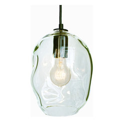 Petite Bubble Hand Blown Glass Pendant Light