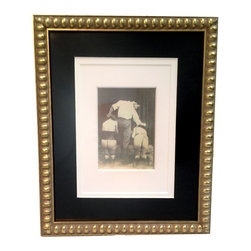 Kulture Bomb - Vintage Parisian S&M Framed Print - Reproduction of a vintage photograph bought by one of the KB team in Paris.