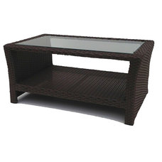 Contemporary Outdoor Coffee Tables by Wicker Paradise