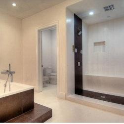 foothill bathroom - hydro syestem, kohler, axor , duravit ALL BOUGHT AT MY NEW SUPPLIER MERIDAN DESIGN CENTER