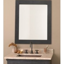 Cuzco Mirror - The Cuzco mirror from Native Trails is an artisan crafted hand forged wrought iron frame with a beautiful beveled glass mirror. Use as an elegant accent to our old world vanities or as a stand alone piece in any room in your home. Width:	37""