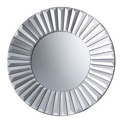 Dimond Lighting - DM1956 Robeson Mirror, Mirrored - Modern Contemporary Mirror in Mirrored from the Robeson Collection by Dimond Lighting.