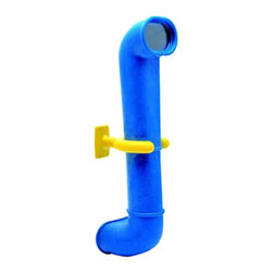 Kidwise - Kidwise Periscope Swingset Accessory - Blue - KW-SI-PER-B - Shop for Swings Slides and Gyms from Hayneedle.com! A fun and great way to transform a swing set into a ship spaceship or anything your kids can think of the Kidwise Periscope Swingset Accessory - Blue is a fun addition to any swing set. Your kids will love exploring and having new adventures while you'll love the savings of making your swing set into something new with very little cost.About Kidwise ProductsThis item is made by Kidwise Outdoors a company whose focus is safe fun excitement for kids. Kidwise strives to promote safe play for kids of all ages through outside activities. Their line of products includes swing sets trampolines inflatable bouncers bikes sport goals and many other items to choose from. Kidwise guarantees all of their products against defects. Like Hayneedle their goal is 100% satisfaction from customers. Their product lines focus on kid-friendly items that are fun to play with and stimulate balance and a healthy lifestyle for kids.