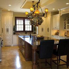 Mediterranean Kitchen Cabinets by Kabinart