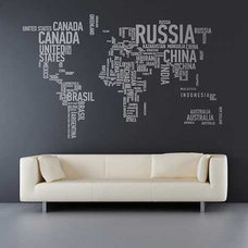 typographic-world-map-design - zdjęcia na FotoForum | Gazeta.pl