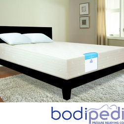 Bodipedic - Bodipedic Essentials 10-inch Gel Memory Foam Full-size Mattress - Turn your bed into a haven of comfort with this full-size memory foam mattress. Replacing your old mattress with this supportive and cradling design will leave you sleeping well and waking refreshed. It even has a cooling gel layer for warmer weather.