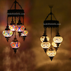 Turkish Style - Mosaic Lighting