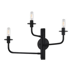 """Sonneman - Sonneman 4540 Atelier 3 Light 12.75"""" Height Wall Sconce - Sonneman 4540 Atelier 3 Light 12.75"""" Height Wall SconceAn unadorned wall sconce that makes a visual statement with it's stark lines and tree-like structure.Sonneman 4540 Specifications:"""