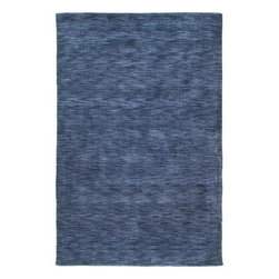 """Kaleen - Area Rug: Renaissance Blue 7' 6"""" x 9' - Shop for Flooring at The Home Depot. Renaissance is a truly unique, high fashion monochromatic collection. This offers a Tibetan look along with a tradition soft back but at a non-traditional price. Regale is hand loomed in India of only the finest 100% virgin seasonal wool for years of elegant durability."""