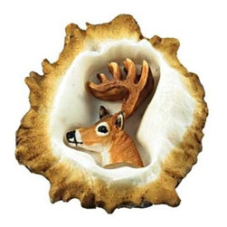 Sierra Lifestyles - Deer Burr Knob, Whitetail Deer - Deer Burr Knob - Whitetail Deer (SIE-681354)