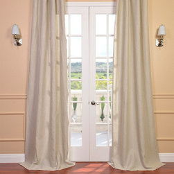 EFF - Signature Beige French Linen Sheer Curtain Panel - This stylish beige sheer curtain panel will add a classic touch to your home's windows. Crafted from 100 percent linen,this elegant unlined window panel allows light to filter softy through,and is available in several different lengths.