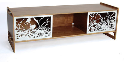Contemporary Entertainment Centers And Tv Stands by HORNE