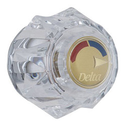 Delta Single Clear Knob Handle Kit - H71PB - Designed exclusively for Delta faucets