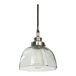 Drew Light - Fill in your study room with a wide array of gleaming light coming from this wonderful drew light. Artistically carved, it is made from brass material and complemented with a beautiful glass shade that completes its sophisticated appearance.