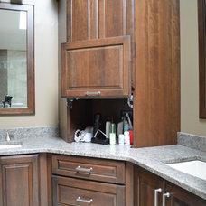 Transitional Bathroom by Studio 76 Kitchen & Bath Designers