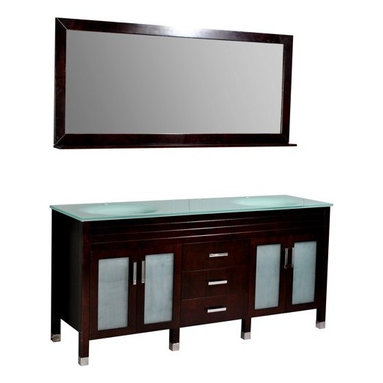 """Belmont Decor DM1D3-72/ESP """"Dayton"""" double sink bathroom vanity - APPLY COUPON CODE """"EDHOUZ50"""" AT CHECKOUT. JUST OUR WAY OF SAYING THANKS."""