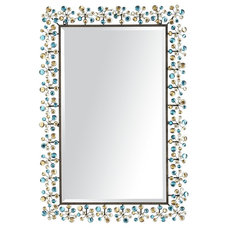 Peacock Dazzle Mirror