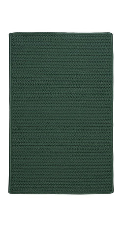 Colonial Mills - Colonial Mills Simply Home Solid H459 Myrtle Green Rug H459R144X180S 12x15 - Practical. Colorful. Versatile. Maintenance-free. Simply pick from 37 colors to find the perfect solid-color indoor/outdoor rug for your space.