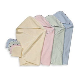 Tl Care - TL Care Organic Terry Hooded Towel Set - This cozy organic terry hooded towel is ideal after your baby's bath. It's great for drying off baby and it will envelop your little one with comfort and warmth.