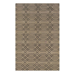 Rizzy Rugs - Contemporary Swing 2'x3' Rectangle Beige Area Rug - The Swing area rug Collection offers an affordable assortment of Contemporary stylings. Swing features a blend of natural Beige color. Flat Weave of New Zealand Wool Blend the Swing Collection is an intriguing compliment to any decor.