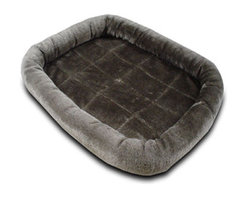 MAJESTIC PET PRODUCTS - Charcoal Crate Pet Bed Mat - Give your pet the best possible rest with this plush bedding. This luxe mat comes in a variety of chic colors and sizes, so you can fit it perfectly to fit your pet's crate. Cushion and cradle your pet with comfort and style!