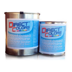 Direct Colors Inc. - 500 Solvent Based Polyurethane Sealer Mini Kit - 500 Solvent Based Polyurethane Sealer Mini Kit includes 0.17 gallon container of Part A (Resin) and 0.056 gallon container of Part B (Hardener).