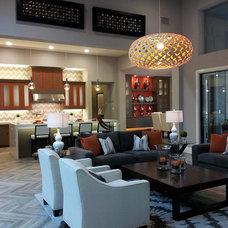 Modern Kitchen by Artistic Tile
