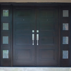 Modern Front Doors by Chad Womack Design