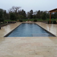 Traditional  by Classic Pools Inc