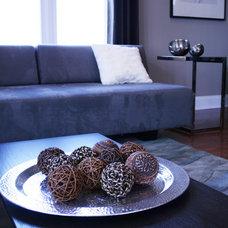 Contemporary Living Room by Blue Canopy Design